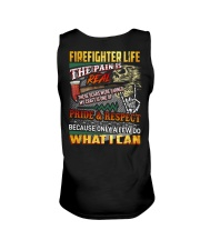 Firefighter Life The Pain Is Real Unisex Tank thumbnail