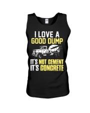 Concrete Finisher I Love A Good Dump Unisex Tank thumbnail