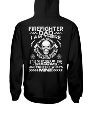 Firefighter Dad I Am There Waiting Watching Hooded Sweatshirt thumbnail