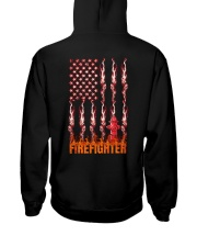 American Flag Firefighter Hooded Sweatshirt thumbnail