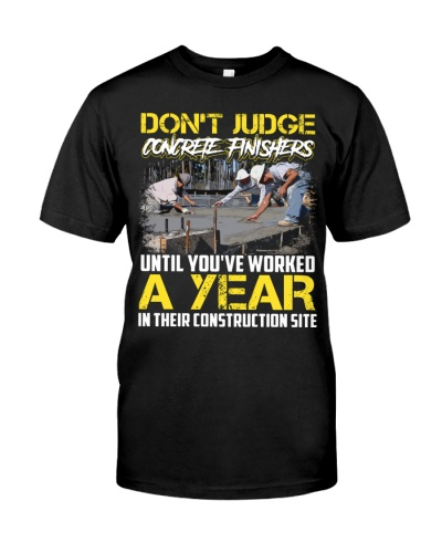 Don't Judge Concrete Finishers