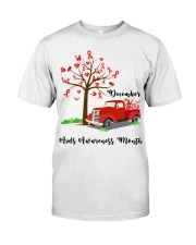 December AIDS Awareness Month Classic T-Shirt front
