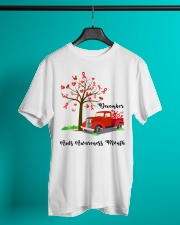 December AIDS Awareness Month Classic T-Shirt lifestyle-mens-crewneck-front-3