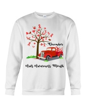 December AIDS Awareness Month Crewneck Sweatshirt thumbnail