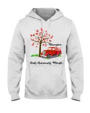December AIDS Awareness Month Hooded Sweatshirt thumbnail