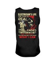 Electrician's Life The Pain is Real Unisex Tank thumbnail