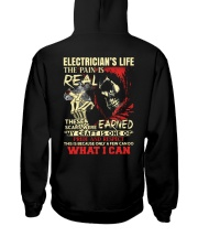 Electrician's Life The Pain is Real Hooded Sweatshirt thumbnail