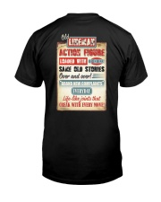 Old Lineman Action Figure Classic T-Shirt back