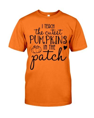 I Teach The Cutest Pumpkins Teacher