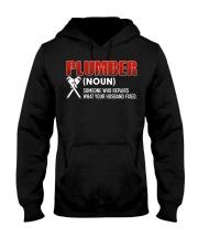 Plumber Someone who repairs Hooded Sweatshirt thumbnail