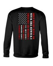 Veteran Flag My Oath Never Ends Crewneck Sweatshirt thumbnail