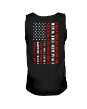 Veteran Flag My Oath Never Ends Unisex Tank thumbnail
