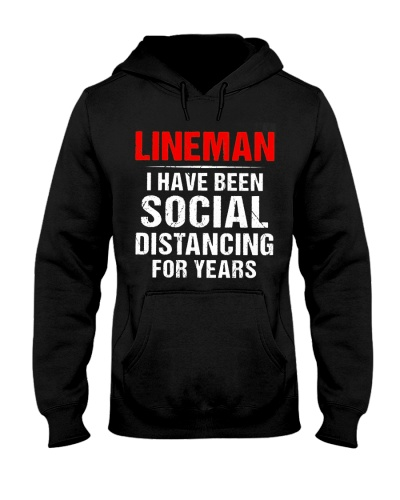 Lineman I Have Been Social Distancing For Years