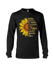Nurses can do all things through Christ who streng Long Sleeve Tee thumbnail