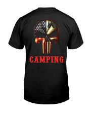 Camping Skull Classic T-Shirt tile