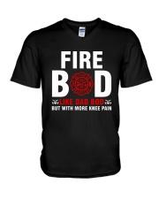 Fire Bod Like Dad Bod V-Neck T-Shirt thumbnail