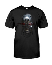 LOVE SKULL COOL Classic T-Shirt front