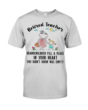 Retired Teacher Grandchildren Fill A Place Premium Fit Mens Tee thumbnail