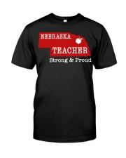 Nebraska teacher Strong Proud Premium Fit Mens Tee thumbnail