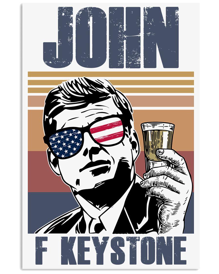 John F Keystone 11x17 Poster