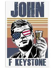John F Keystone 11x17 Poster front