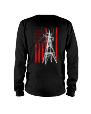 Power Line Flag  Shirt Long Sleeve Tee thumbnail