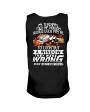 They Were Wrong  Heavy equipment operator Unisex Tank thumbnail