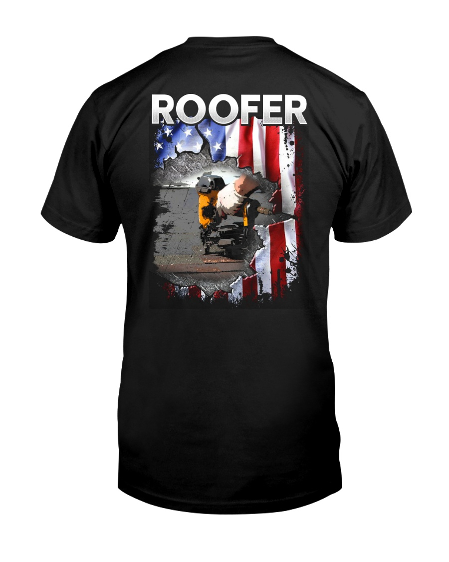 Roofer Flag Classic T-Shirt
