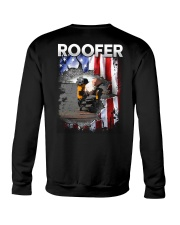 Roofer Flag Crewneck Sweatshirt thumbnail