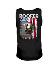 Roofer Flag Unisex Tank thumbnail