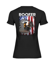 Roofer Flag Premium Fit Ladies Tee thumbnail