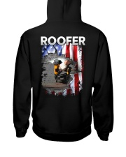 Roofer Flag Hooded Sweatshirt thumbnail