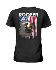 Roofer Flag Ladies T-Shirt thumbnail