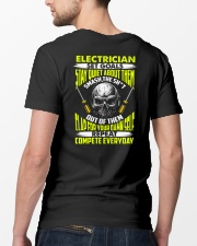 Electrician Repeat Compete Everyday Classic T-Shirt lifestyle-mens-crewneck-back-5