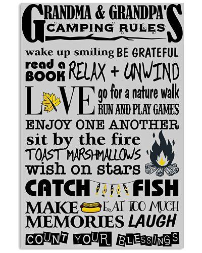 Grandma Grandpa Camping Rules