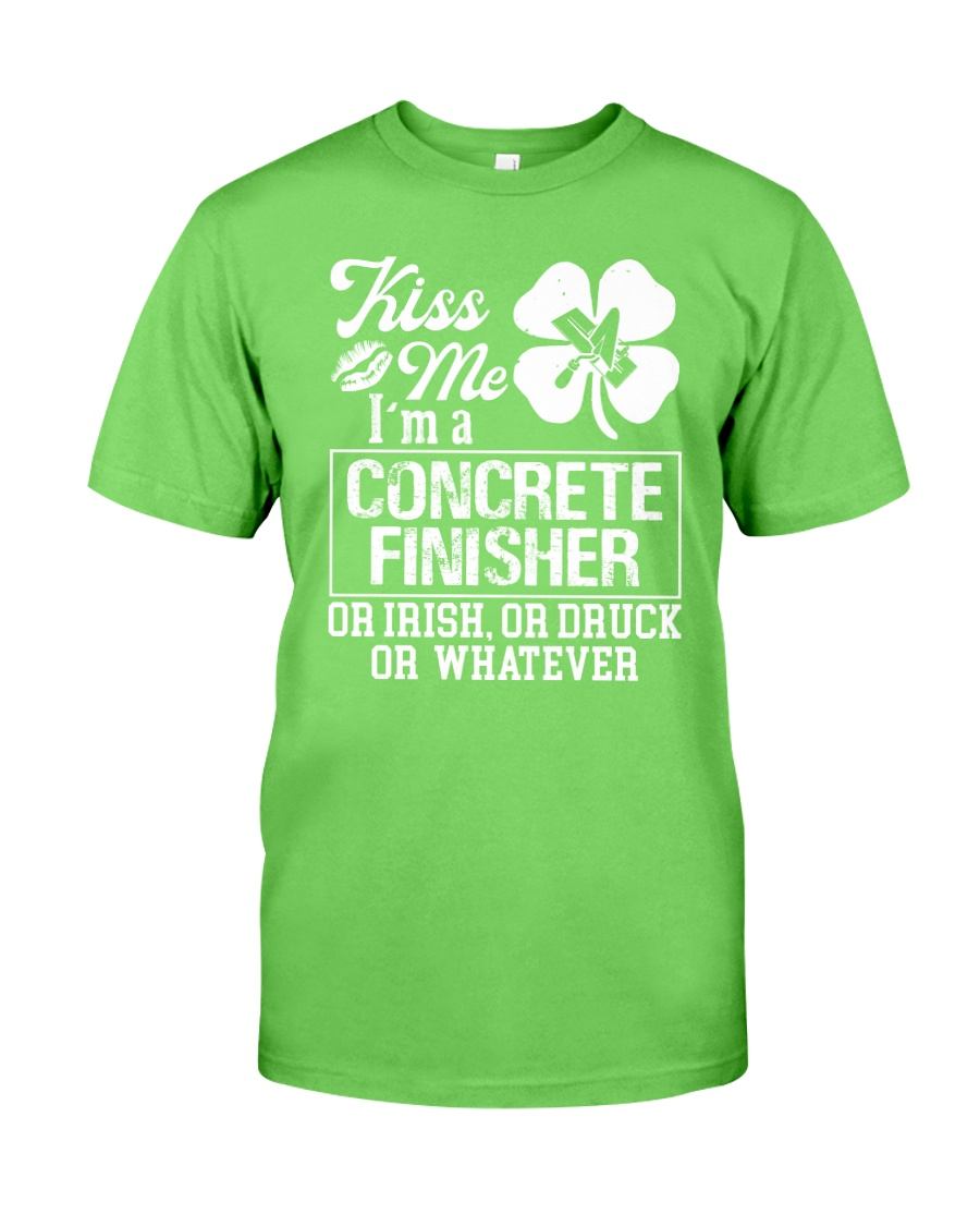 Concrete Finisher - Kiss Me  Classic T-Shirt