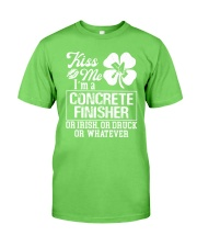 Concrete Finisher - Kiss Me  Classic T-Shirt front