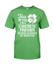 Concrete Finisher - Kiss Me  Premium Fit Mens Tee thumbnail