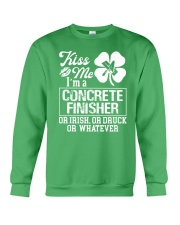 Concrete Finisher - Kiss Me  Crewneck Sweatshirt thumbnail