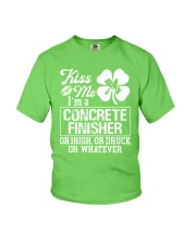 Concrete Finisher - Kiss Me  Youth T-Shirt thumbnail