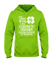 Concrete Finisher - Kiss Me  Hooded Sweatshirt thumbnail
