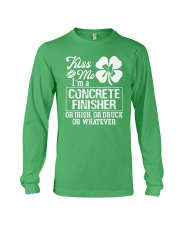 Concrete Finisher - Kiss Me  Long Sleeve Tee thumbnail