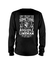 Lineman And I Own That Like A Boss Long Sleeve Tee thumbnail