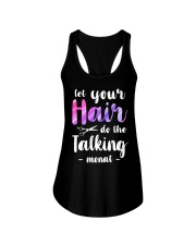 Let Your Hair Do The Talking Monat Ladies Flowy Tank thumbnail