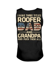 I Have There Titles Roofer Dad And Grandpa Unisex Tank thumbnail