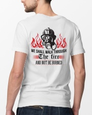 We Shall Walk Through The Fire And Not Be Burned Classic T-Shirt lifestyle-mens-crewneck-back-5