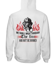 We Shall Walk Through The Fire And Not Be Burned Hooded Sweatshirt thumbnail