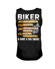 Biker Rev The Engine Ride On 2 Wheels Unisex Tank thumbnail