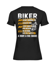 Biker Rev The Engine Ride On 2 Wheels Premium Fit Ladies Tee thumbnail