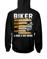 Biker Rev The Engine Ride On 2 Wheels Hooded Sweatshirt thumbnail